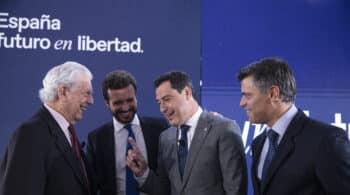 """Vargas Llosa, en la Convención del PP: """"Los países que votan mal lo pagan caro"""""""