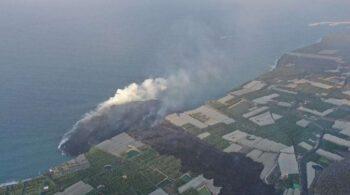 El nuevo volcán de La Palma ha emitido 80 millones de m3 de material, más del doble que el volcán de 1971