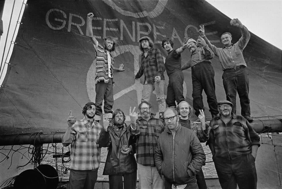 Primer viaje de Greenpeace