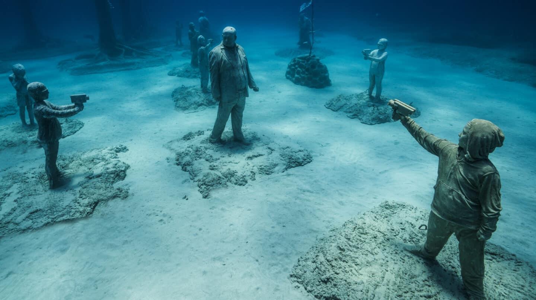 Un museo en la profundidad del Mediterráneo