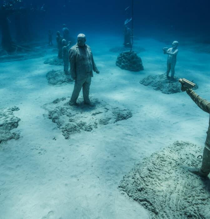 Un bosque en la profundidad del Mediterráneo: así es el Museo subacuático en Ayia Napa