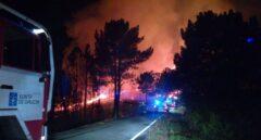 Declarado un incendio en Lugo que afecta ya a más de 100 hectáreas