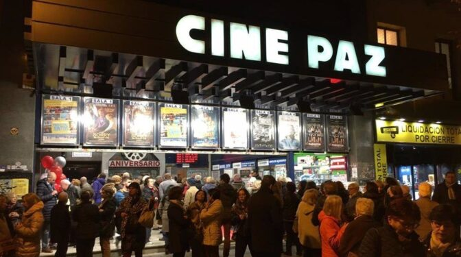 Vuelven las proyecciones al histórico Cine Paz de Madrid