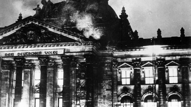 Reichstag en llamas