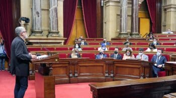 ERC y JxCat votan divididos sobre el aeropuerto y el diálogo con el Gobierno
