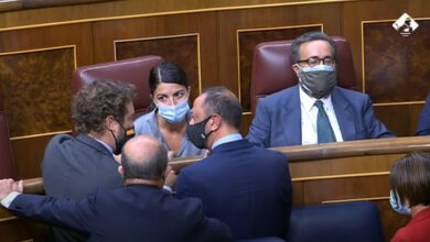 Lío en el Congreso: un diputado de Vox se niega a irse tras ser expulsado del hemiciclo