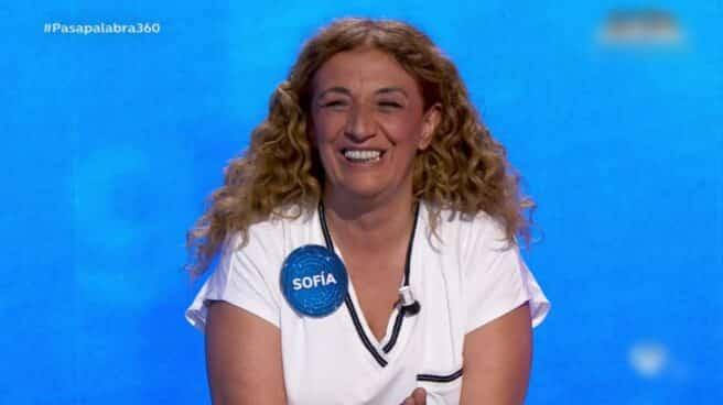 Sofía Álvarez, ganadora de Pasapalabra