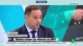 Ábalos reconoce que no ha vuelto a hablar con Sánchez desde su salida del Gobierno