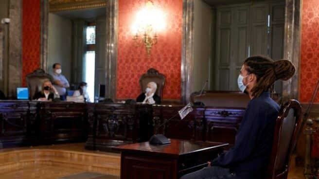 El exsecretario de Organización de Podemos y diputado Alberto Rodríguez durante su juicio en el Tribunal Supremo