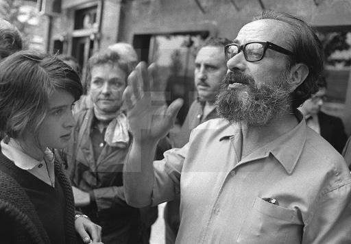 El dramaturgo Alfonso Sastre en 1975
