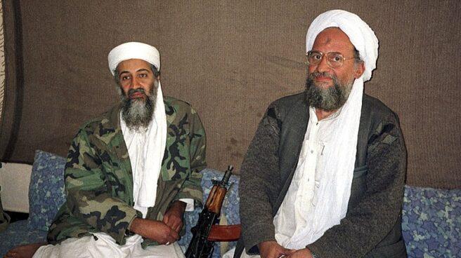 Bin Laden y Aiman al Zawahiri.