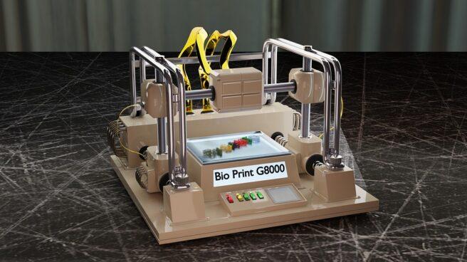 """Impresora de """"bioimpresión"""""""
