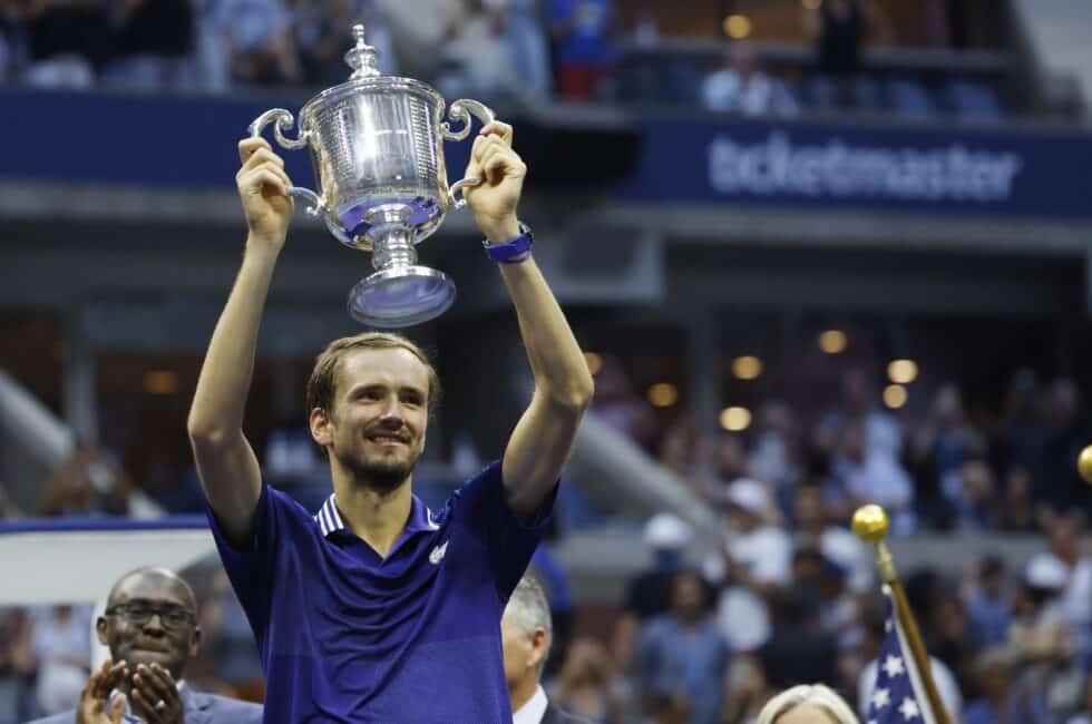 Daniil Medvedev, campeón del US Open tras vencer a Djokovic en la final
