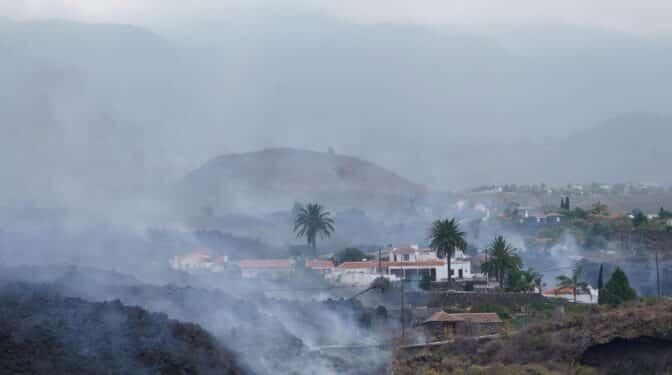 Qué pasará con las propiedades arrasadas por la lava