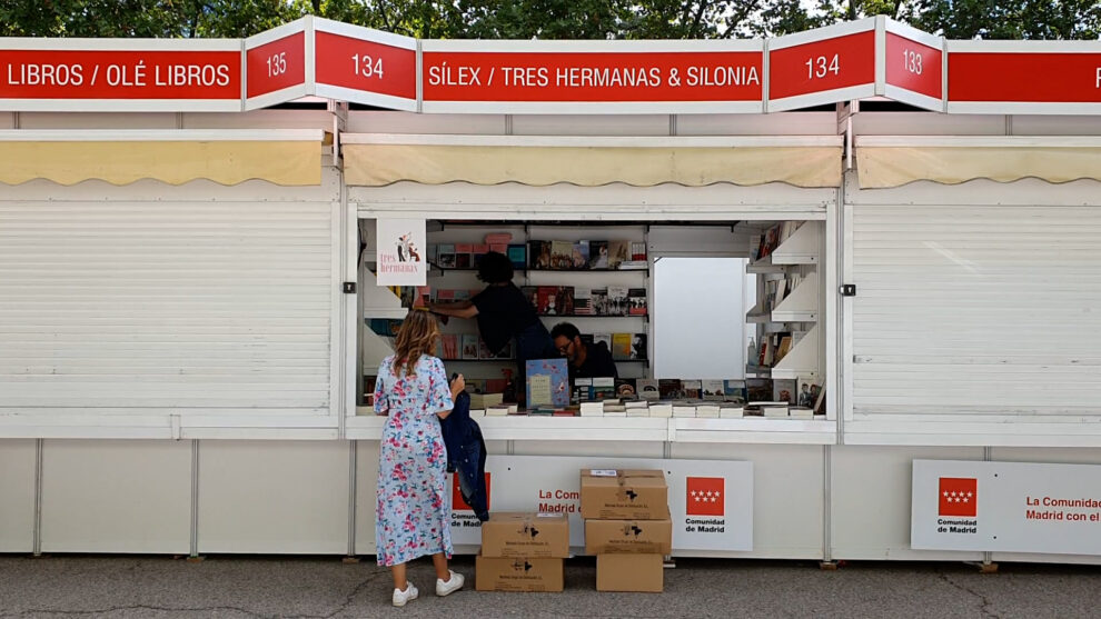 Caseta 134 de la Feria del Libro.