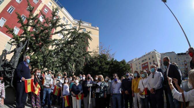 Cientos de personas claman en Madrid contra las humillaciones a las víctimas de ETA