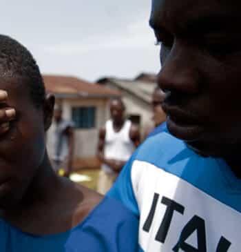 Chennor, el niño de Sierra Leona que acabó en una cárcel de adultos por una ley colonial