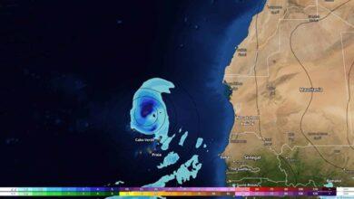 Un ciclón tropical podría llegar a Canarias la próxima semana