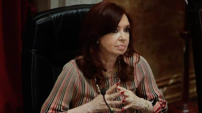 La vicepresidenta de Argentina, Cristina Fernández de Kirchner