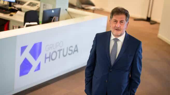 El presidente de Hotusa, Amancio López.
