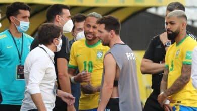 Se suspende el Brasil-Argentina en el minuto 6 porque varios jugadores se habían saltado el protocolo sanitario