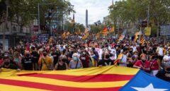 El independentismo reúne a 108.000 personas en la Diada menos seguida en una década