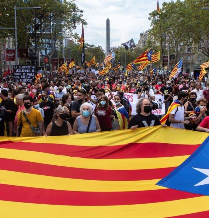 El independentismo vuelve a la calle en busca de la unidad perdida
