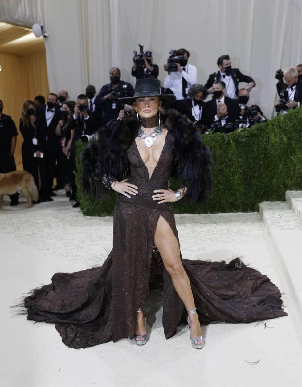 Jennifer Lopez vistió inspirada en el salvaje oeste de la mano de Ralph Lauren