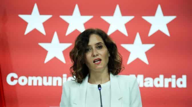 Ayuso eliminará todos los impuestos propios de la Comunidad de Madrid