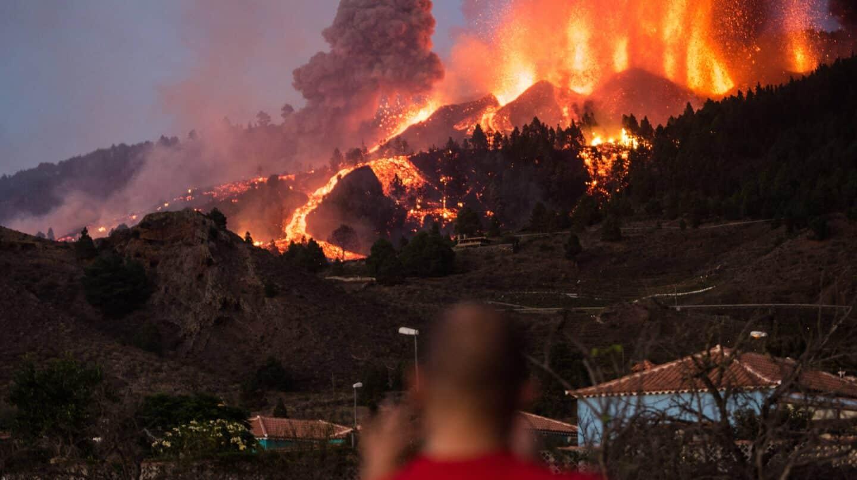 """Aviso del Involcan: """"Por donde tire el volcán no hay nada que hacer"""""""