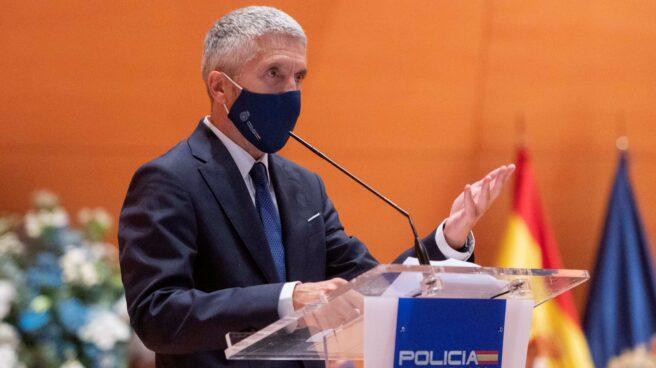 El ministro del Interior, Fernando Grande-Marlaska, en un acto oficial.