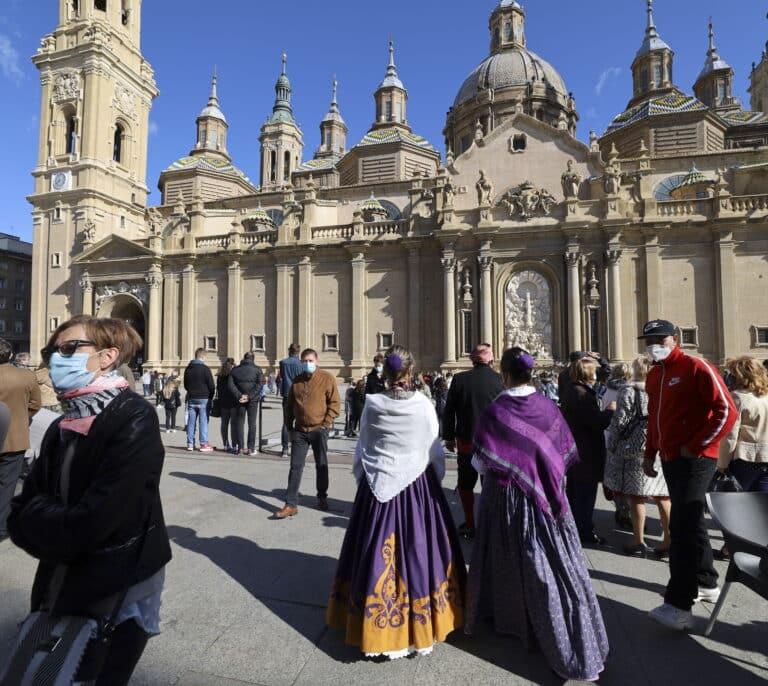 Aragón suspende las fiestas patronales de octubre, incluidas las del Pilar