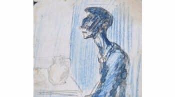 Un dibujo de Picasso desaparecido hace casi 100 años sale a subasta en España