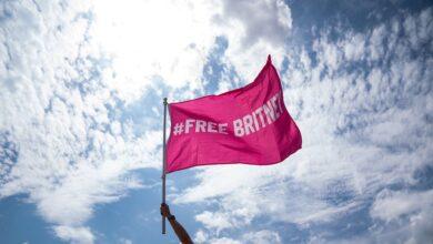 Así saluda Britney Spears a la libertad