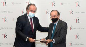 La Fundación Damm renueva su acuerdo de colaboración con el Teatro Real