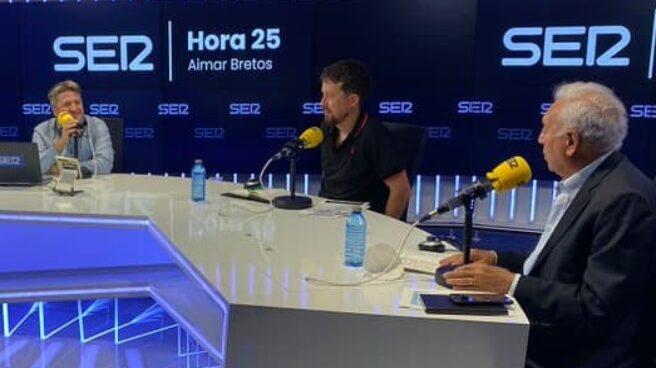 Pablo Iglesias, tertuliano en la Cadena SER.
