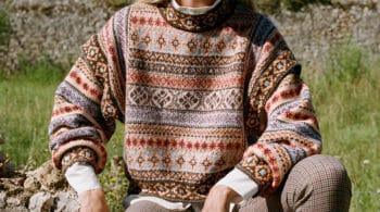 El jersey estampado y de estilo jacquard, la nueva prenda de deseo del momento