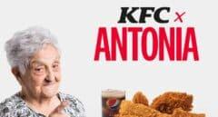 'KFC x Antonia', la competencia del 'McAitana'