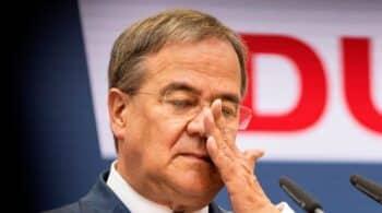 Fuego amigo contra Armin Laschet en el partido de la canciller Merkel