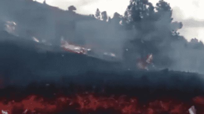 Lava de Cumbre Vieja, de La Palma
