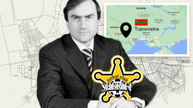 Viktor Gushan, dueño y fundador del club Sheriff de Tiraspol, que se enfrentará el martes al Real Madrid en la Champions