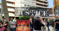 Los Mossos blindan el consulado de Italia en Barcelona frente a las protestas por la detención de Puigdemont