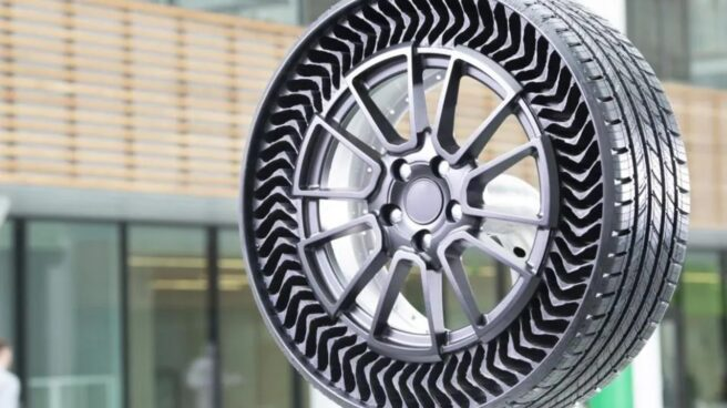 Nueva rueda de Michelín