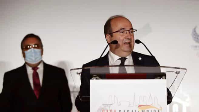 El ministro de Cultura, Miquel Iceta.