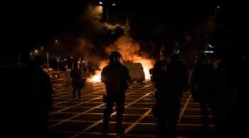 Policías y 'mossos', convencidos de que habrá más altercados el 1-O que en la Diada