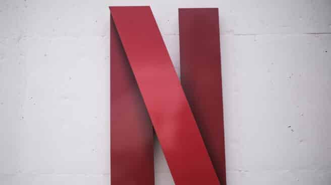 Logo de Netflix de la sede de Netflix en España en Tres Cantos, Madrid