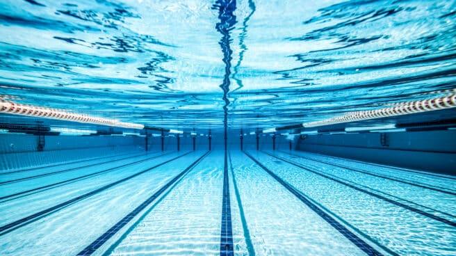Imagen de una piscina de Fluidra.