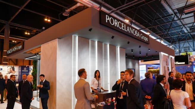 El estand de Porcelanosa en la XXI edición del Salón Inmobiliario Internacional de Madrid