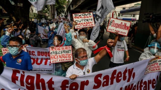 Protestas en Filipinas por la gestión de la pandemia de la Administración de Rodrigo Duterte