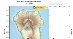 Activado el plan por riesgo volcánico en La Palma por el aumento de la actividad sísmica